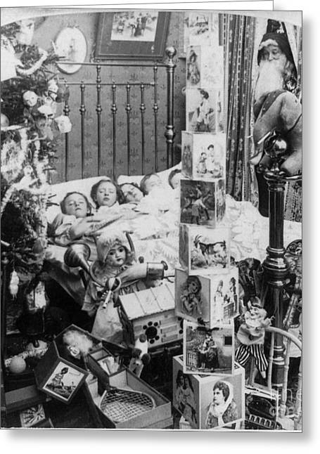 Christmas Eve, C1898 Greeting Card by Granger