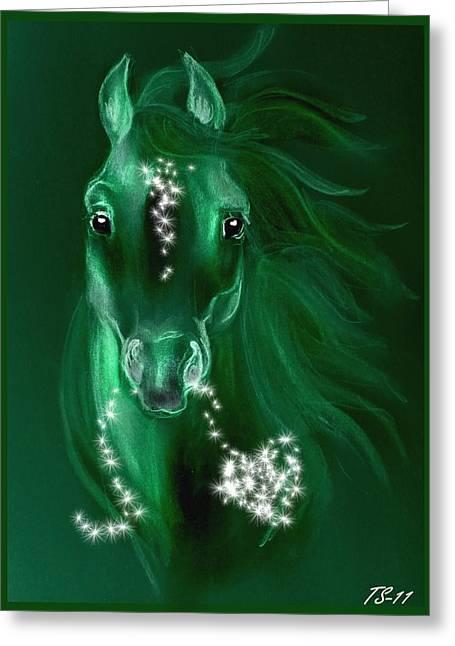Christmas II Greeting Card by Tarja Stegars