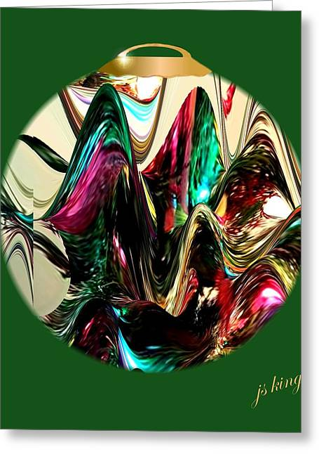 Christmas Ornament 2015 Greeting Card by Jacquie King