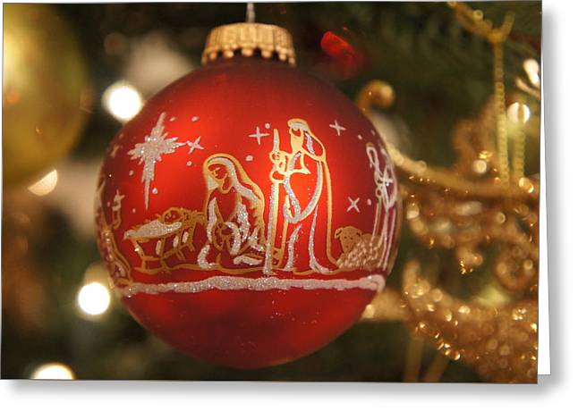 Christmas Ornament Greeting Card by Art Spectrum