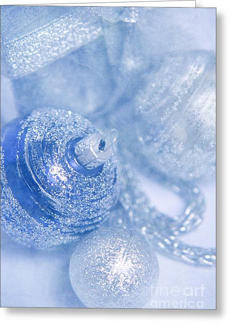 Silber Greeting Cards - Christmas time Greeting Card by Angela Doelling AD DESIGN Photo and PhotoArt