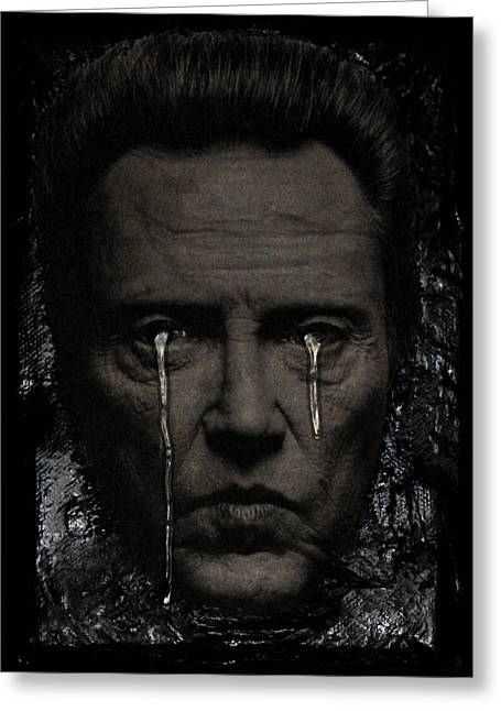 Tears Greeting Cards - Christopher Greeting Card by Federico Biancotti
