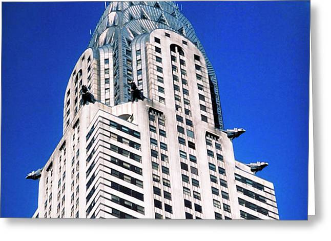 Chrysler Building Greeting Card by John Greim