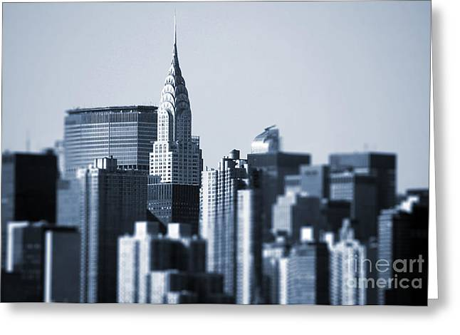Matt Greeting Cards - Chrysler building Greeting Card by Matt