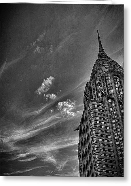 Chrysler Building Nyc Greeting Card by Martin Newman