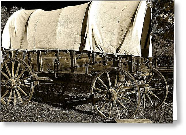 Hovind Greeting Cards - Chuck Wagon 2 Greeting Card by Scott Hovind