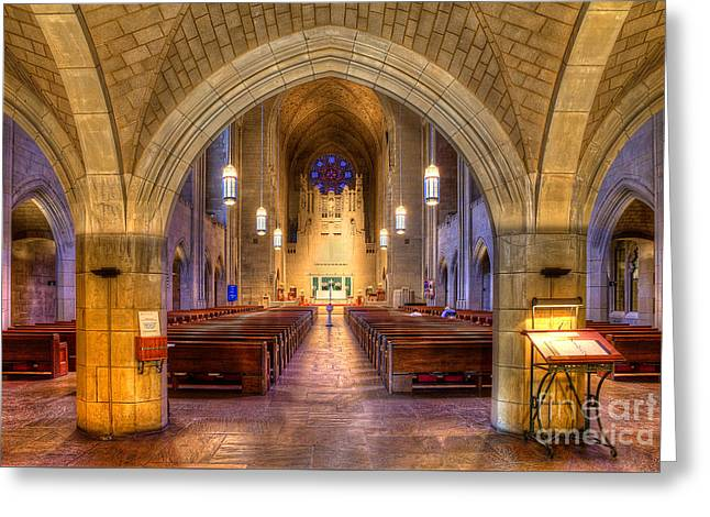 5th Ave Greeting Cards - Church of Heavenly Rest Greeting Card by Jerry Fornarotto