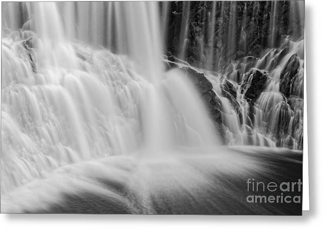 Water Flowing Greeting Cards - Chute de la Chaudiere Quebec Greeting Card by Colin Woods
