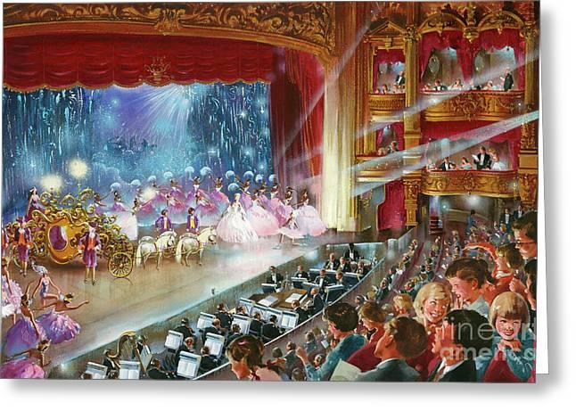 Cinderella Greeting Card by John Worsley