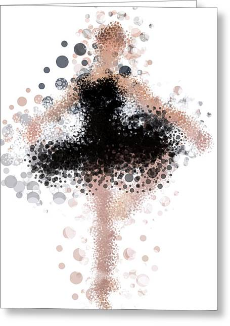 Fashion Art For Print Greeting Cards - Cindy Greeting Card by Nancy Levan
