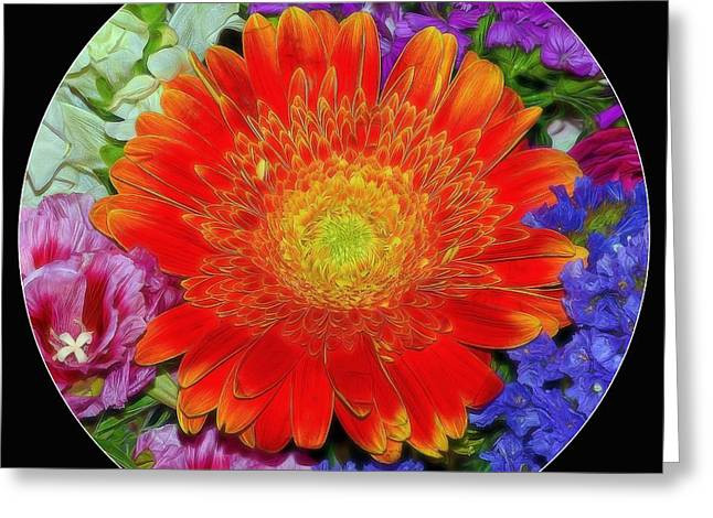 Purchase Greeting Cards - Circle of Color Greeting Card by Patrick Witz