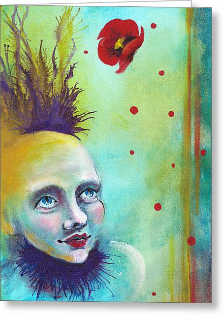 Surprise Greeting Cards - Circus is waiting 1 Greeting Card by Gretchen  Smith