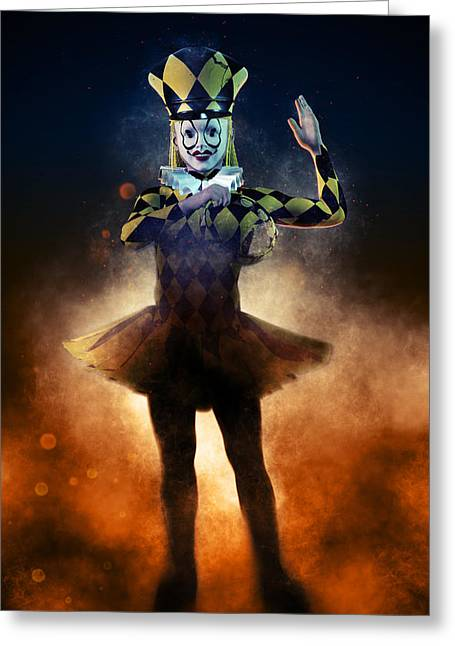 Circus Of Horrors - Doll Corpse Greeting Card by Joaquin Abella