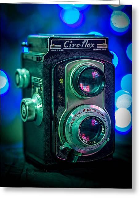 Reflex Greeting Cards - Ciro-flex TLR Greeting Card by Keith Hawley