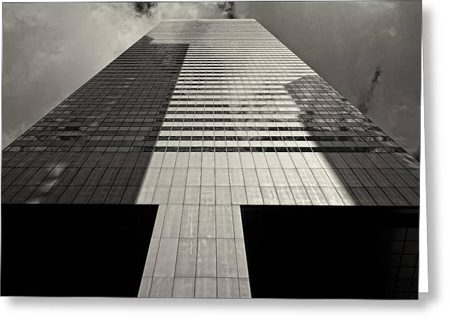 Citicorp Building 2 Greeting Card by Robert Ullmann