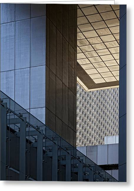 Citicorp Center Nyc Greeting Card by Robert Ullmann