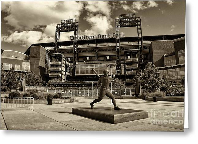 Citizens Park 1 Greeting Card by JACK PAOLINI