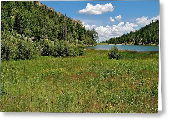 Michael Knight Greeting Cards - Cito Reservoir Greeting Card by Michael Knight