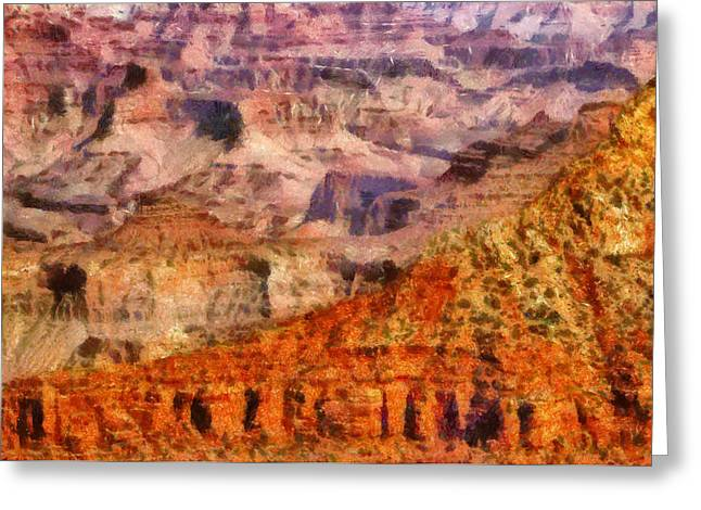 City - Arizona - Grand Canyon - Kabob Trail Greeting Card by Mike Savad