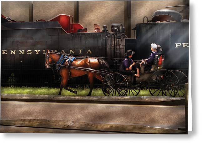 City - Lancaster PA - You got to love Lancaster Greeting Card by Mike Savad