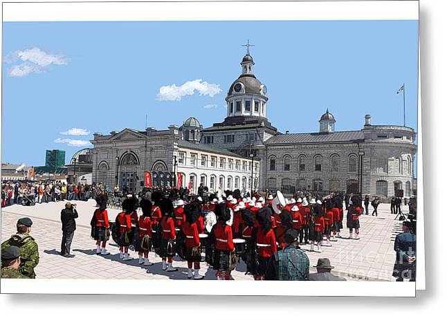 Kingston City Hall Greeting Cards - City Hall Greeting Card by Kevin Sweeney
