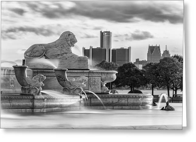City Of Dreams Greeting Card by Pat Eisenberger