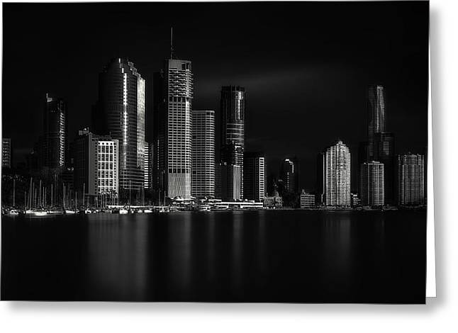 Exposure Greeting Cards - City Of Light Greeting Card by Steven Fudge