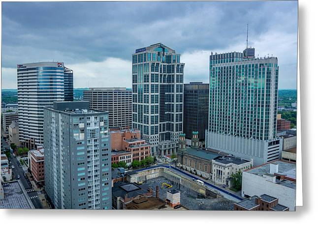 Nashville Tennessee Greeting Cards - Cityscape  Greeting Card by Anthony Alexander