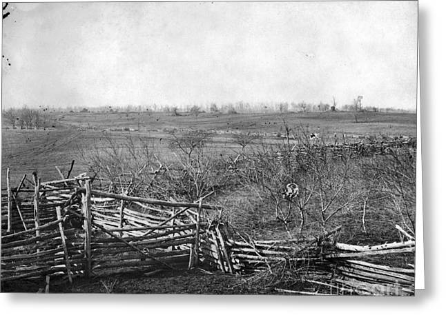 Centreville Greeting Cards - Civil War: Bull Run, 1861 Greeting Card by Granger