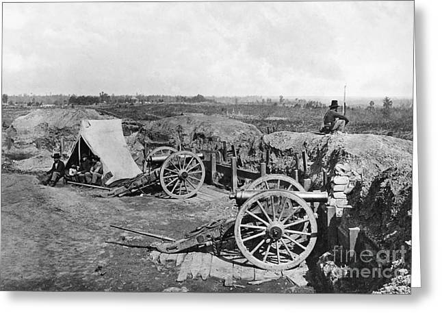 Fort George Greeting Cards - Civil War: Fortifications Greeting Card by Granger