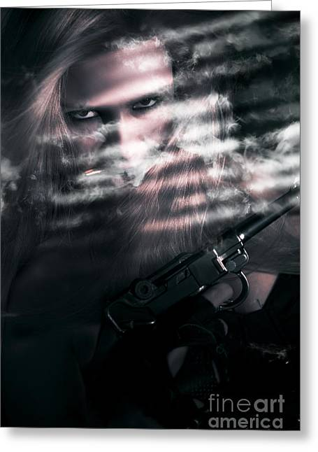 Clandestine Secret Agent Greeting Card by Jorgo Photography - Wall Art Gallery