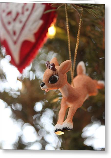 Rudolph Greeting Cards - Clarisse Greeting Card by Maria Freeman