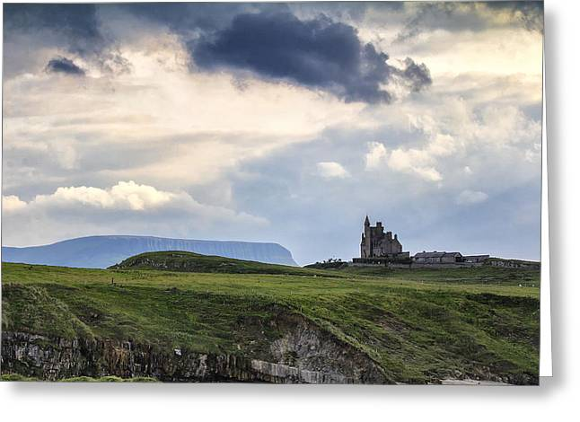 Princes Greeting Cards - Classibawn Castle, Mullaghmore Greeting Card by Frank Fullard