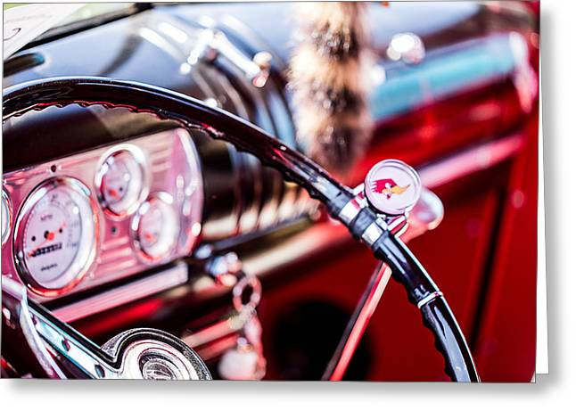 Truck Detail Greeting Cards - Classic Car Detail 5 Greeting Card by A Different Brian Photography