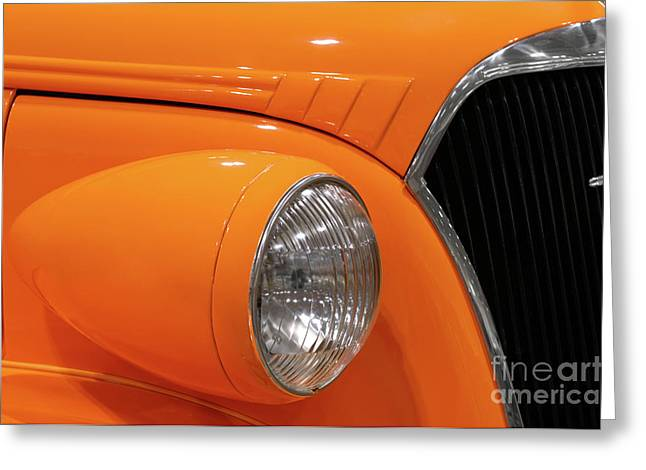 Renewing Photographs Greeting Cards - Classic Car Details Greeting Card by Oleksiy Maksymenko