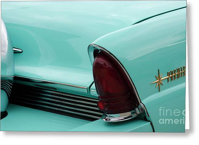 Classic Cars Beauty Of Design 2 Greeting Card by Bob Christopher