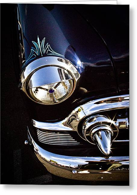 Pinstripes Greeting Cards - Classic Chrome  Greeting Card by Merrick Imagery