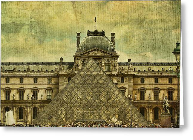 Pyramids Greeting Cards - Classic Contradiction Greeting Card by Andrew Paranavitana