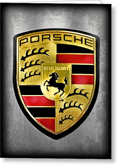 Porsche Greeting Cards - Classic Greeting Card by Elizabeth Budd