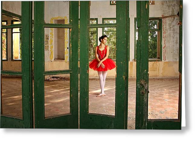 Dancer Photographs Greeting Cards - Classic Frame Greeting Card by Osher Partovi
