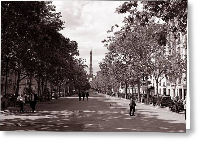 Classic Paris 10 Greeting Card by Andrew Fare