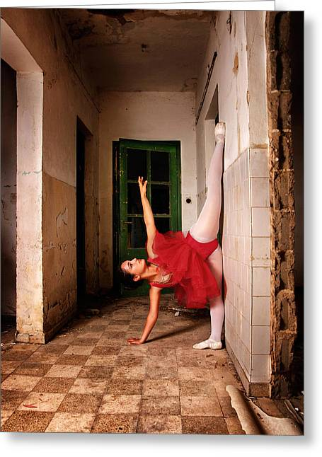 Dancer Photographs Greeting Cards - Classic Touch Greeting Card by Osher Partovi