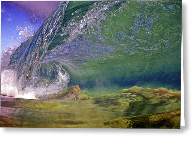 Recently Sold -  - Shower Curtain Greeting Cards - Clean  Greeting Card by Jim  Welch
