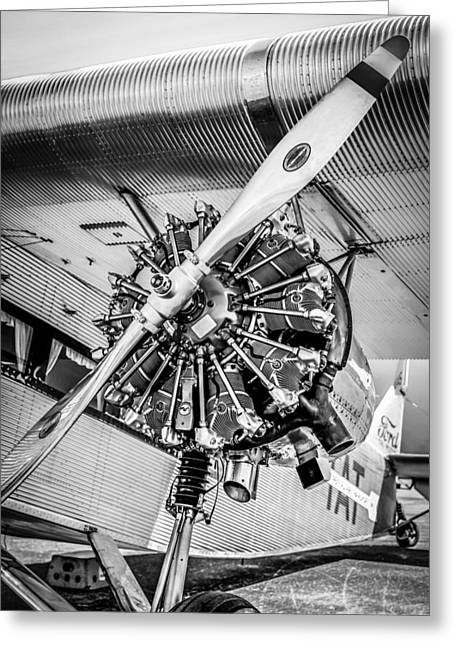 Tin Planes Greeting Cards - Clear Prop Greeting Card by Chris Smith
