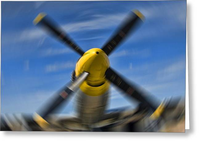 Clear Prop Greeting Card by Steven Richardson