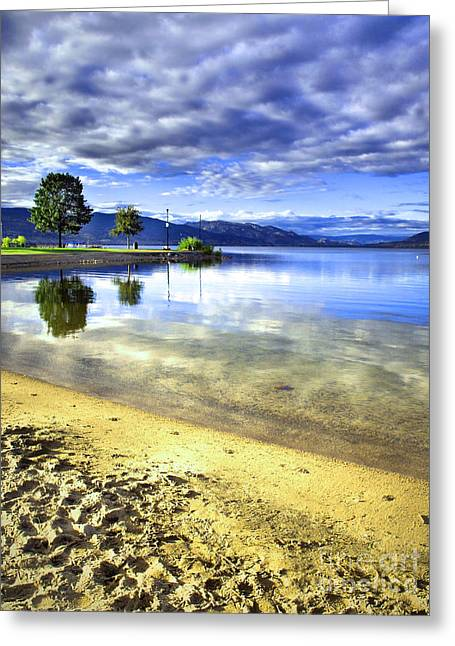 Penticton Greeting Cards - Clear Waters Greeting Card by Tara Turner