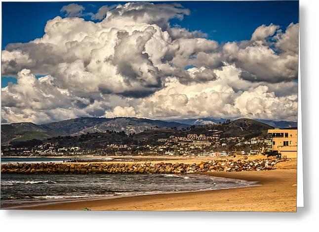 Ventura California Greeting Cards - Clearing Storm Over Ventura California Greeting Card by Danny Goen