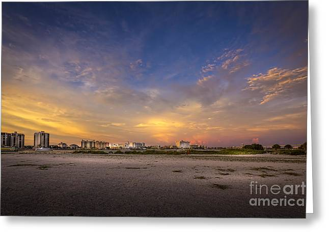 Jacksonville Greeting Cards - Clearwater Intercoastal Greeting Card by Marvin Spates