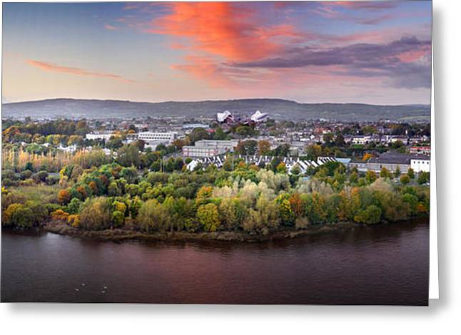 Best Seller Greeting Cards - Cleeves River bank Greeting Card by Dominick Moloney