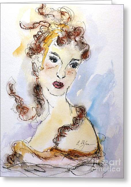 Michelangelo Greeting Cards - Cleopatra Greeting Card by Cristina Stefan
